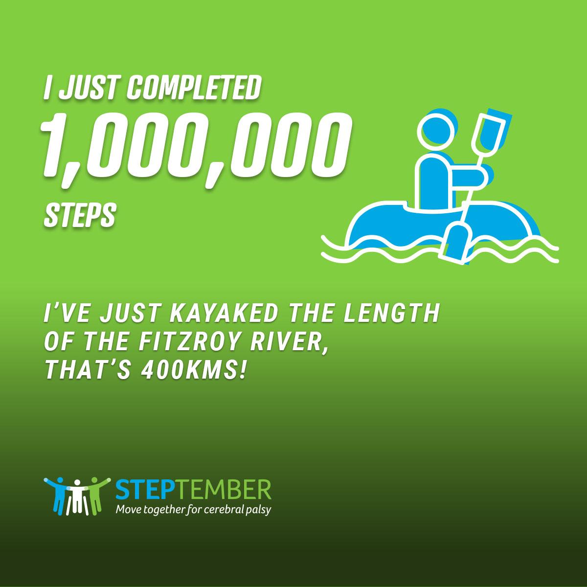 Social Post - 1,000,000 Steps