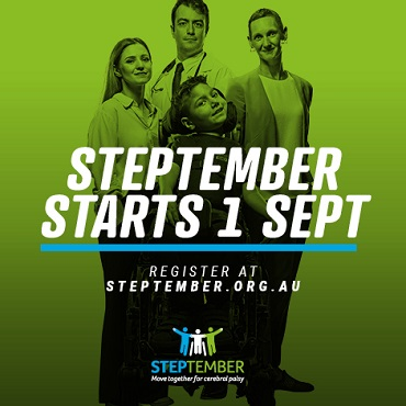 Social Post - STEPtember starts 1st Sept
