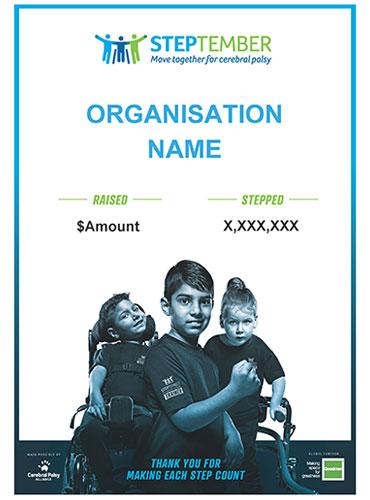 STEPtember Certificate - Organisation