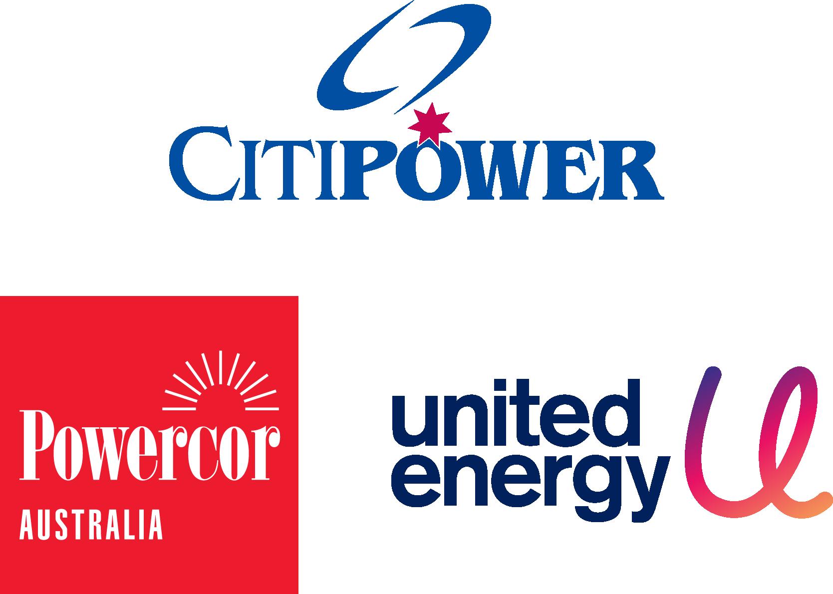 CitiPower Powercor United Energy Beon
