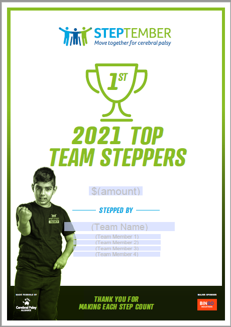 TopTeamSteppers-2021-1st