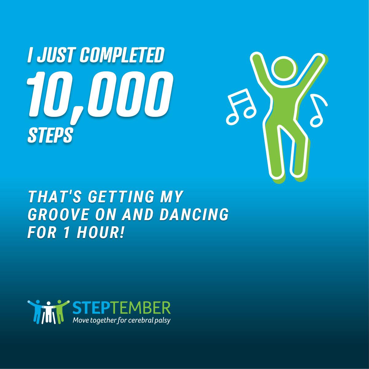 Social Post - 10,000 Steps