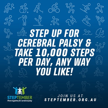 Social Post - Step Up for Cerebral Palsy